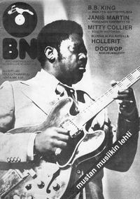 Blues News 6/1977 Kansi: B.B. King